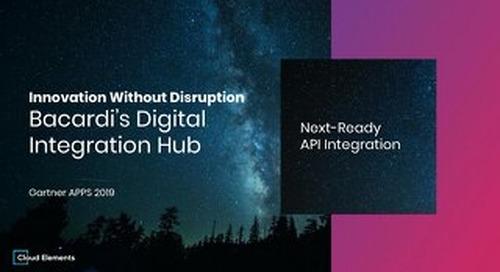 Cloud Elements Presentation at Gartner Application Strategies & Solutions Summit 2019