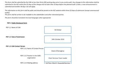 ASC015 MOWI Ireland Ahabeg Form 3