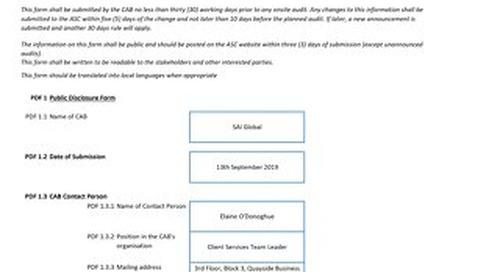 ASC060 Cermaq Dixon Bay Form 3 Announcement Surv 2