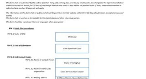 ASC062 Cermaq Millar Channel Form 3 Announcment