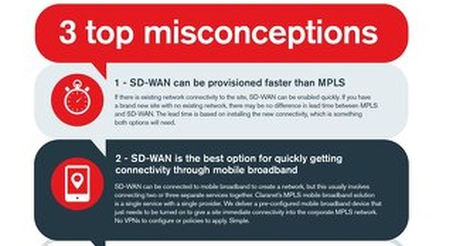 Claranet | SD-WAN cheat sheet for Partners