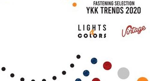 YKK Fastening Selection 2020
