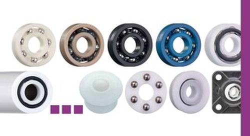 xiros plastic ball bearings catalog