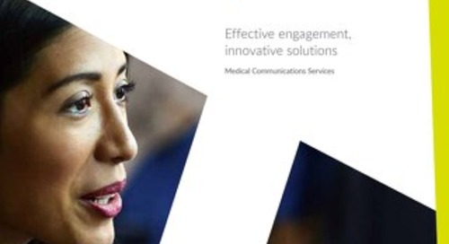 Parexel Medical Communications Services brochure