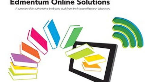 A Study of Best Practices in Edmentum™ Online Solutions