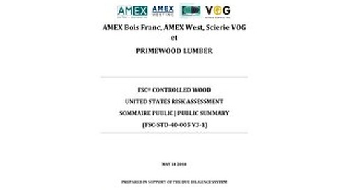 Primewood Lumber-Risk Assessment US