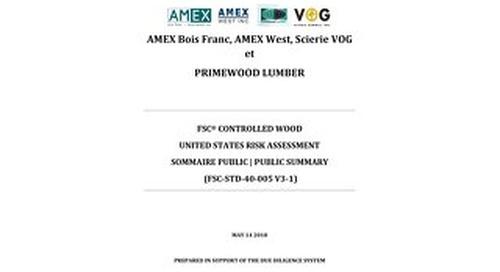 Primewood Lumber-Risk Assessment US