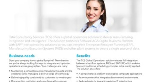 Global Operations by Tata Consultancy Services
