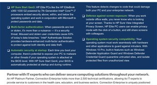 Checklist - Learn the 5 Key Components for More Secure Endpoints with HP, Intel and Microsoft