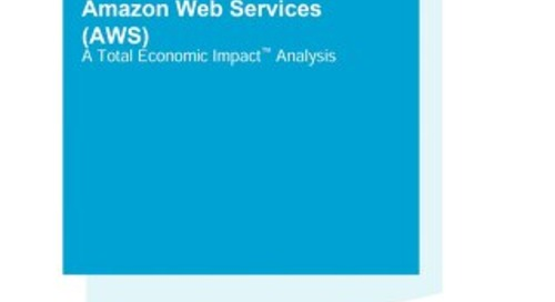 The ISV Business Case For Building SaaS on Amazon Web Services (Forrester Consulting)