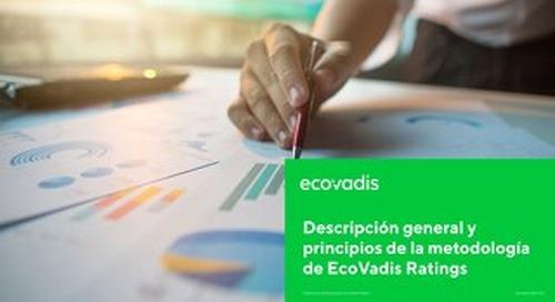Descripción general y principios de la metodología de EcoVadis Ratings