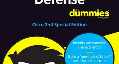 NEW for 2020: Ransomware Defense For Dummies - 2nd Edition