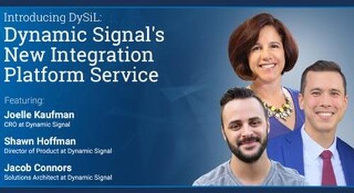 Dynamic Signal's New Integration Platform As A Service (Pres Deck)