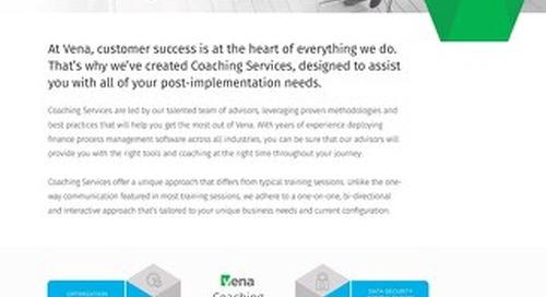 Datasheet - Coaching Services