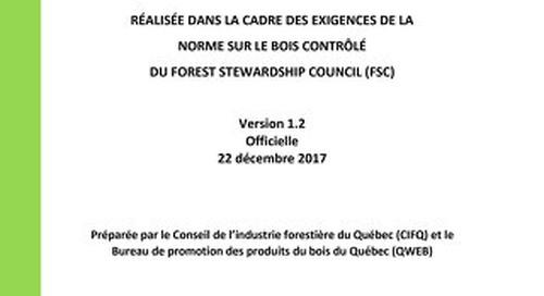 Masonite Controlled Wood Risk Assess Quebec