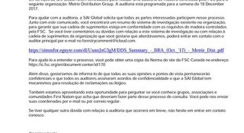 Metrie Distribution - FSC-CW-Public Notice-BRA