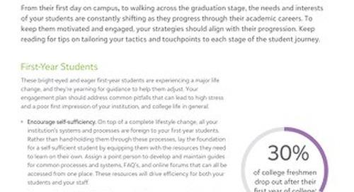 Tip Sheet: Engaging Students Based on Academic Progress