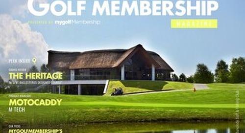 My Golf Membership Digital Magazine Issue 3