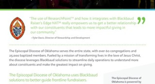 Episcopal Diocese of Oklahoma Customer Story