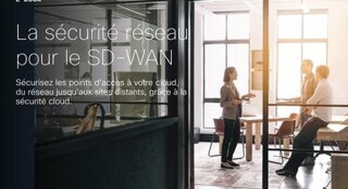 La sécurité réseau pour le SD-WAN