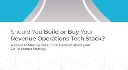 Should You Build or Buy Your Revenue Operations Tech Stack?
