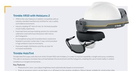 Datasheet - Trimble XR10 with HoloLens 2
