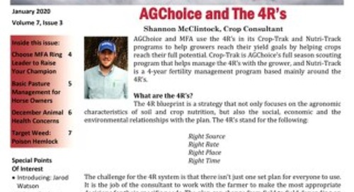 AGChoice December 2019 Newsletter