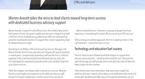 Leading Clients in the Right Direction with High Value Advisory Services