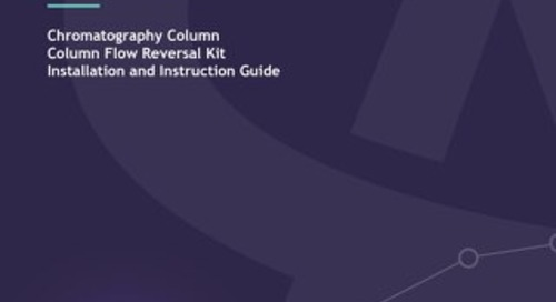 Column Flow Reversal kit fitting guide