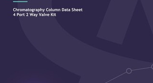 4 port 2 way valve kit Data Sheet