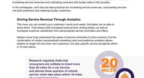 3 Ways to Use Predictive Analytics in Service Drive