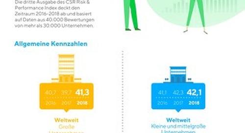 Infographiken zum CSR Risk & Performance Index 2019