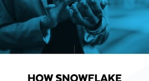 How Snowflake Powers Your Personalization Initiative