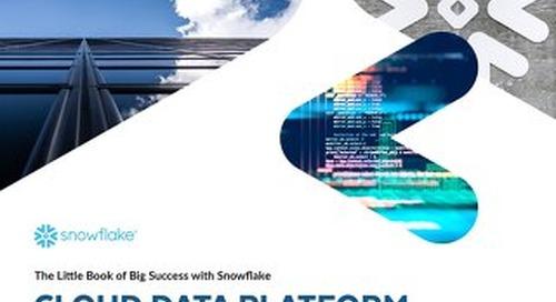 Little Book of Big Success: Cloud Data Platform Edition