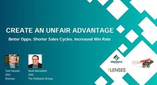 Webinar Slides: Create an Unfair Advantage