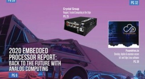 Embedded Computing Design Spring 2020 with Embedded World Profiles