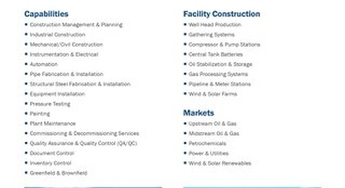 AE - Onshore Construction Services
