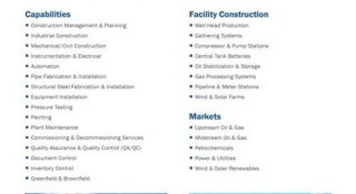 Onshore Construction Services