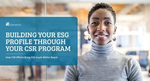 Turn ESG Objectives into Actions