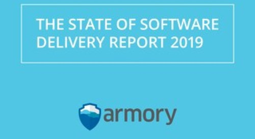 Armory State of Software Delivery Report