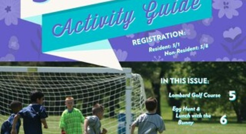 2020 Spring Activity Guide