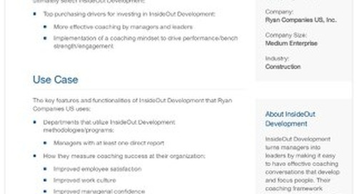 Ryan Companies and InsideOut Development: A Case Study