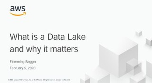 Data Lake AWS_20200205