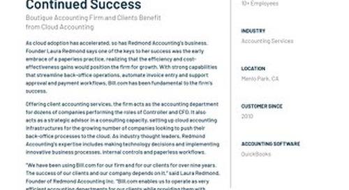 Case Study - Redmond Accounting Inc