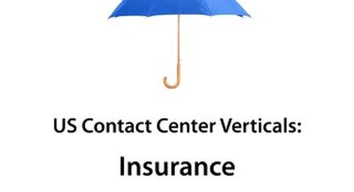 ContactBabel US Contact Center Vertical Market Report: Insurance