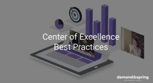Center of Excellence Best Practices