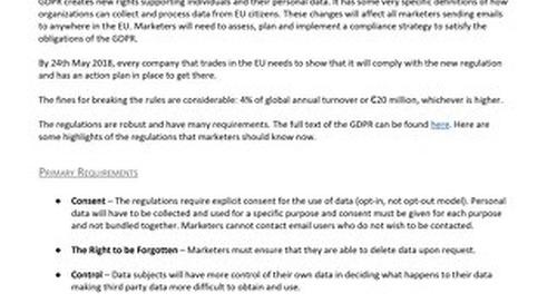 GDPR Compliance Controls