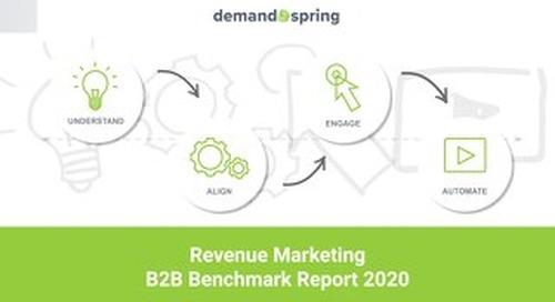 B2B Revenue Marketing Benchmark Report 2020