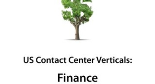 ContactBabel US Contact Center Vertical Market Report: Finance