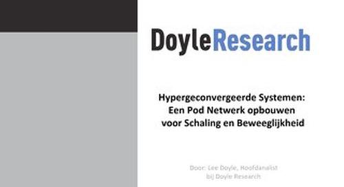 Hypergeconvergeerde Systemen: Een Pod Netwerk opbouwen voor Schaling en Beweeglijkheid